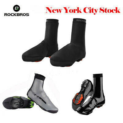 RockBros Cycling Shoe Covers Winter Warm Waterproof Fleece Protector Overshoes