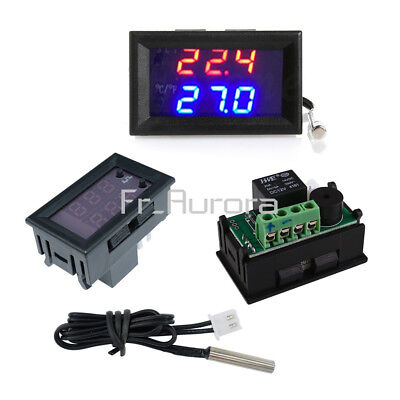 DC12V W1209WK Digital thermostat Temperature Control Sensor NTC10K 1% 3950 Cable