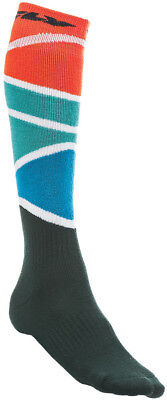 Fly Racing Youth Red/Blue Thick MX Socks ( Mens One Size ) 350-0421Y 350-0421Y
