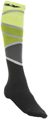 Fly Racing MX Sock All Colors/Sizes Lime/Green/Black Small/Medium 350-0425S