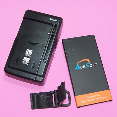 3870mAh Extended Slim Battery Travel Charger for Samsung Galaxy J7 Perx SM-J727P