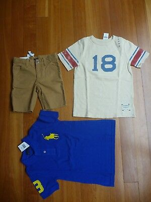 3 Boys Gap Items Size 4-5