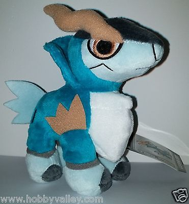 COBALION POKEDOLL PLUSH DOLL Pokemon Center NEW w/ TUSH & HANG TAGS 2012 US RARE