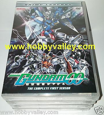 Mobile Suit Gundam 00 Complete First Season 1 Anime Legends 6-Dvd Set Sealed Usa