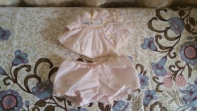 My Child pink dress and under pants doll clothes
