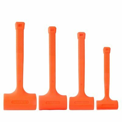 Dead Blow Hammer 1/2/3/4LBS Neon Orange covered with non-marring material
