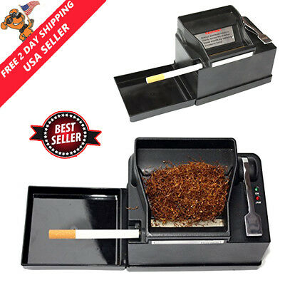 Powermatic 2+ Electric Cigarette Injector Roller Machine Tobacco Rolling Maker