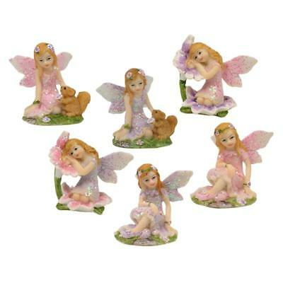 NEW Mini Sitting Fairy Set 4cm ALL PRODUCTS