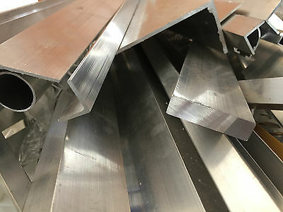 Aluminium Offcuts Profiles Scrap Sections Angle Square Tube Round Tube Flat Bar