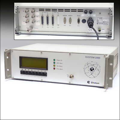 Efratom System 2000, Rubidium Standard, Time and Frequency System, getestet