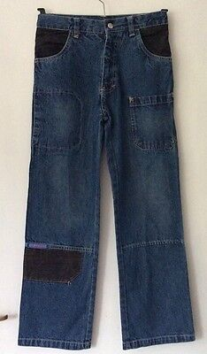 boys pulcino blue jeans age 9-10 years