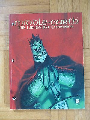 Middle Earth LIDLESS EYE COMPANION MELE Guide Book lotr MECCG ICE #3341 MERS
