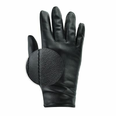 Mens Real Leather Top Quality Slim Fit Driving Gloves