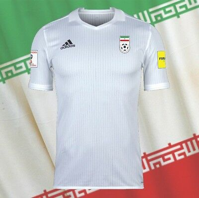 IRAN adidas adizero Trikot 2017 WM Quali Patches Offiziel Original NEU Gr. XL