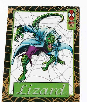 LIZARD 1994 Spider-Man Suspended Animation Limited Subset #12 of 12 FLEER Marvel