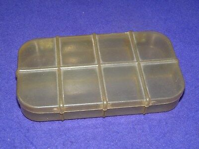 Wheatley rare vintage celluloid dry fly fishing box compartment base collector