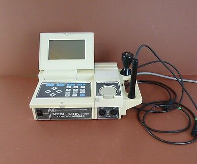 Ems Medi-Link Model 70 Control Module System Ultrasound Physiotherapy+Ems Probes