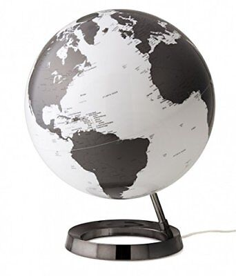 TECNODIDATTICA Mappamondo Atmosphere Light&Colour Metal Charcoal, (A6x)