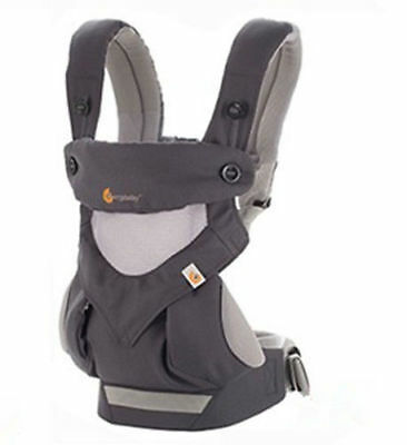 Ergo 360 Four Position breathable carrier Dusty gray New w box  1