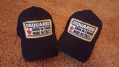 Dsquared Born in Canada Cap Neu