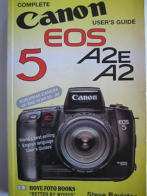 Canon EOS 5 - 35mm film camera - Complete Users Guide - Hove Foto Books