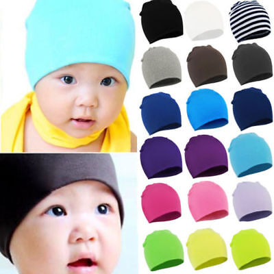 ^^ Unisex Baby Cap Beanie Boy Girl Toddler Infant Children Cotton Soft Cute Hat