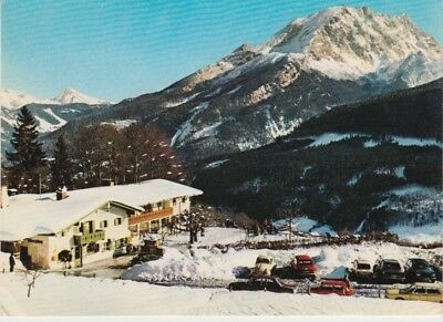 Germany (W) - Cream Glacier, Berggasthof & Pension (Post Card) 1960's