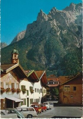 Germany (W) - Mount Karwendelgebirge, Mittenwald (Post Card) 1960's