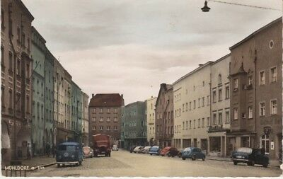 Germany (W) - Old Muhlldorf Town (Post Card) 1950's