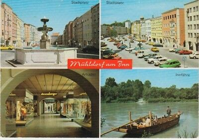 Germany (W) - Views of Muhldorf Am Inn (Post Card) 1960's