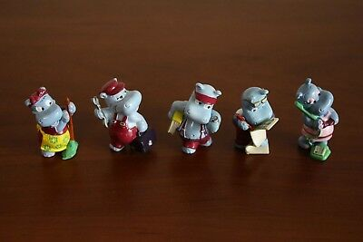 Kinder Surprise Egg Set Happy Hippo Company 1994 not complete