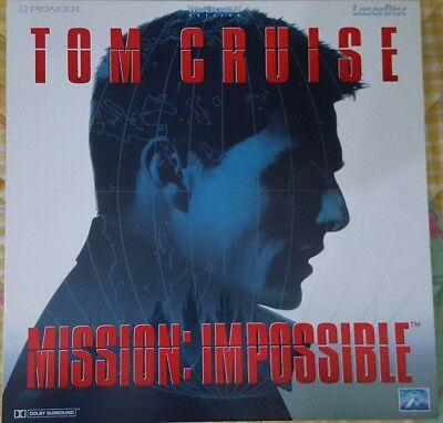 LASER DISC ITA - MISSION: IMPOSSIBLE (TOM CRUISE) - Widescreen