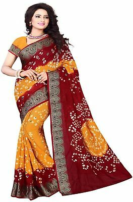 Bhagalpuri Indian Bollywood Saree Party Wear Pakistani Wedding Designer Sari