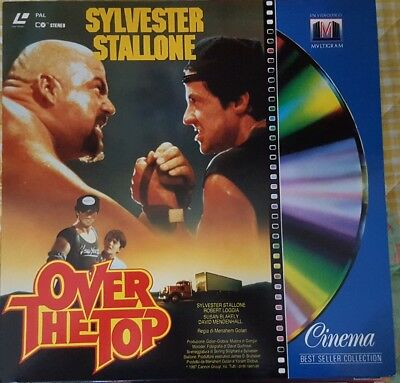 LASER DISC ITA - OVER THE TOP (STALLONE) - Widescreen