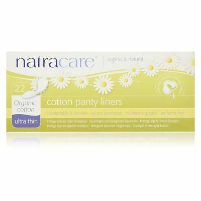 Natracare Organic Ultra Thin Panty Liners  22 pcs