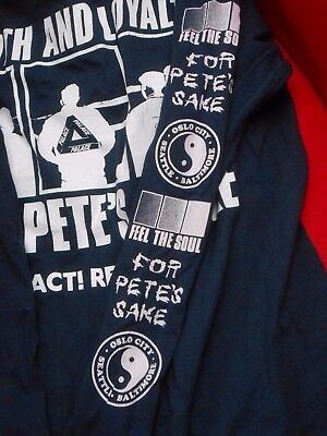 For Pete's Sake M shirt(straight edge, sxe,react!, sportswear, crucial response)