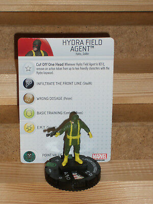 HeroClix Marvel Nick Fury, Agent of SHIELD, #030a Hydra Field Agent