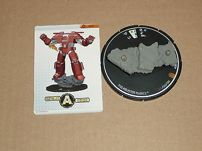 HeroClix Nick Fury, Agent of S.H.I.E.L.D. #G001 Hulkbuster Mark II Base