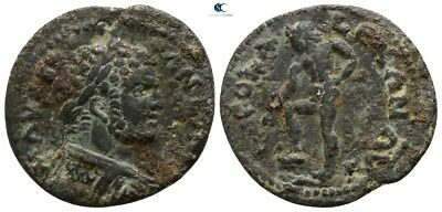 Savoca Coins Troas Alexandria Caracalla Apollo Branch 5,28 g / 23 mm @SON15988
