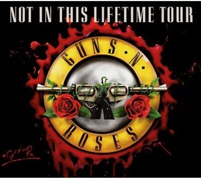 2 X Guns N Roses Front Of Stage 1 Berlin 3.6.18