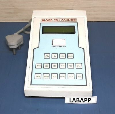 Blood Cell Counter Digital Lab Equipment Diagnosis labapp-159 Aluminum