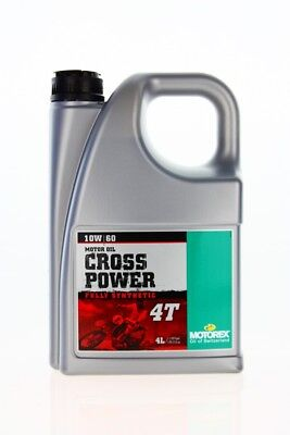 Motorex Cross Power 4T 10W60 4L (14,24 eur / 1L )