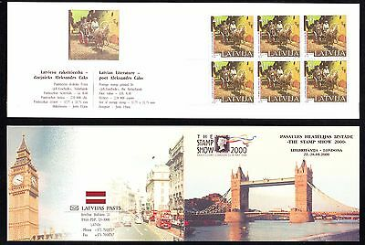 "Latvia - 2000 ""The Stamp Show 2000. London"" Booklet"