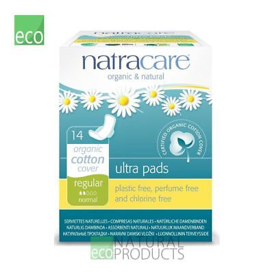 Natracare Organic Cotton Ultra Pads 14 Regular Flow