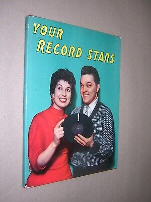 Your Record Stars Annual 1956. Pop Music Book - Annual. Very Good Condition