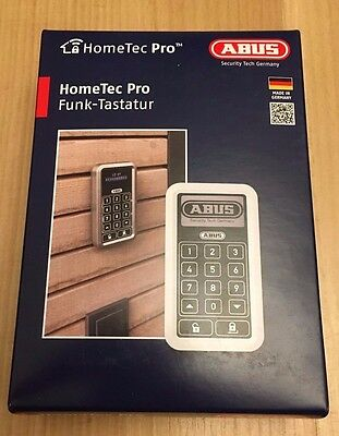 ABUS Funk-Tastatur Home Tec Pro CFT 3000 S in silber