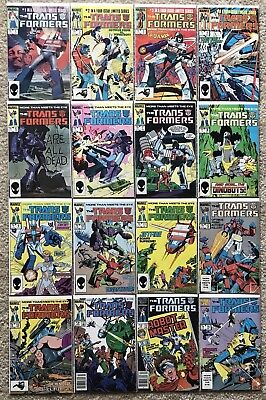 Marvel comics Transformers 1-80 Headmasters 1-4 NM complete set run collection