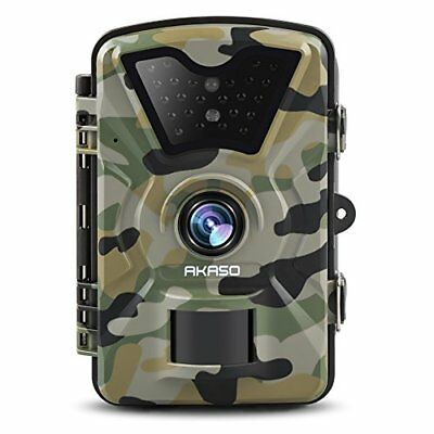 Game Trail Camera Infrared Night Vision Hunting Security 12MP 1080 HD Waterproof