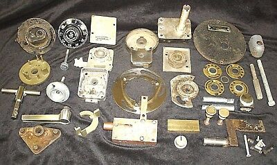Vintage Safe and Safe Lock Parts 12+ Pounds LOCKSMITH-Articulated Metal Arts