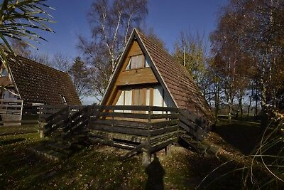 Prefab House Building Office Timber A-Frame Home Lumber House 58.5 sqm
